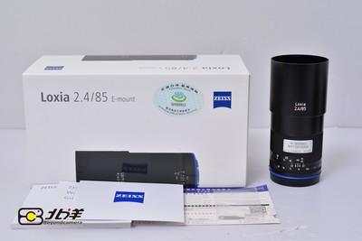 99新 卡尔 蔡司 Loxia 85/2.4 行货带包装(BH10310008)