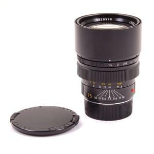 徕卡 Leica M 75/1.4 SUMMILUX-M E60 德产