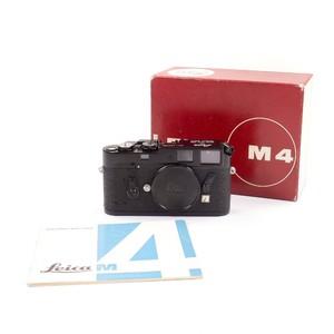 97-98新 徕卡 Leica M4 Black Paint 黑漆 带包装