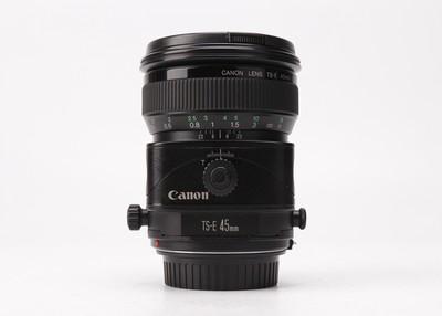 特价93新二手Canon佳能 45/2.8 TS-E 移轴镜头  回收 20344京