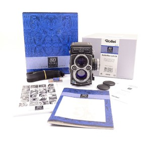 禄莱 Rolleiflex 2.8GX 80周年纪念版 带包装