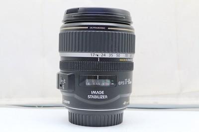 95新二手Canon佳能 17-85/4-5.6 IS USM单反镜头 回收 120403深