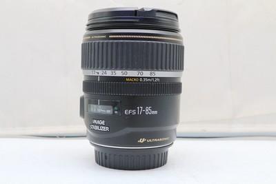 95新二手Canon佳能 17-85/4-5.6 IS USM单反镜头回收 918675深
