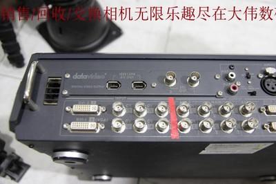 新到 9成新 洋铭DATAVIDEO SE-600 切换台 带盒子 编号0835