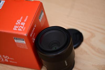 索尼FE50mm 2.8微距 5月东京购买 99新