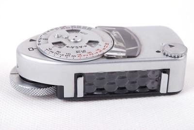 【美品】Leica徕卡METER MC银色测光表jp21060