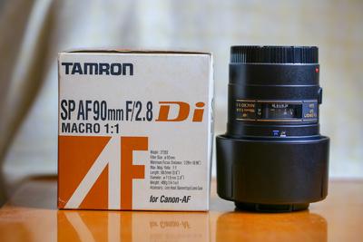 腾龙 SP AF 90mm F2.8(272E)佳能口
