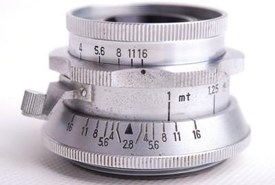 美能达Chiyoko Super Rokkor 45/2.8银色Leica LTM镜头jp21069