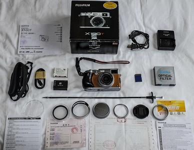 富士x100t 限量版旁轴相机,箱说发票全,配件多多