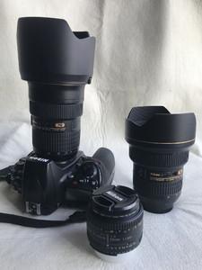 全套尼康设备 D700、14-24、24-70、50定焦及大量赠送物品