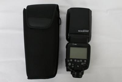 90新二手Canon佳能 600EX-RT 一代机顶闪光灯 回收 110895州