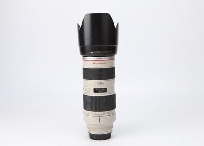 不出租94新二手Canon佳能 70-200/2.8 L 小白变焦镜头 222185津