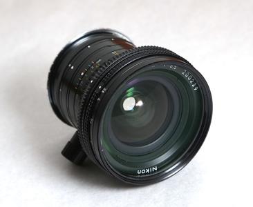 尼康pc 28mm f3.5移轴镜头,带佳能EOS接环