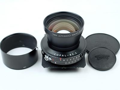 施耐德 Schneider APO-TELE-XENAR 400mm F5.6 新同品!