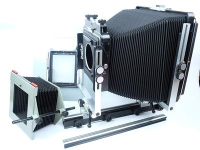 雅佳 ARCA SWISS 8x10 +4x5双画幅 单轨复合轨相机
