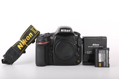 93新二手Nikon尼康 D800 单机 快门21486次 063617京