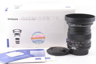 98/卡尔·蔡司 Distagon T* 25mm f/2.8 一代 (带包装 尼康口)