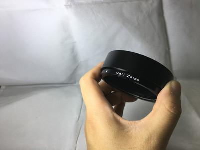 全新Zeiss 50 1.4 遮光罩