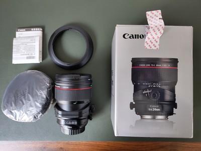 自用佳能 TS-E 24mm f/3.5L II移轴镜头