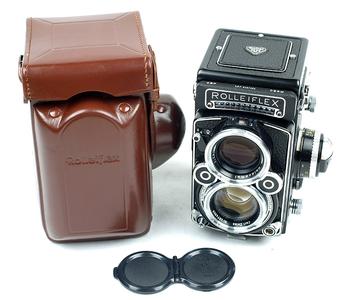 禄来 Rollei Rolleiflex 2.8F planar 极上品!(美国版)