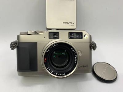 康泰时G1绿标+45镜头+闪灯