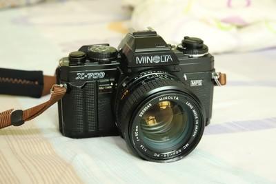Minolta X-700,50mmf1.4