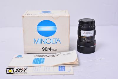 96新 美能达 M-ROKKOR 90/4 M口 带包装(BH08250006)【已成交】