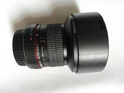 三阳超广角14mm f2.8 电影镜头 T3.1