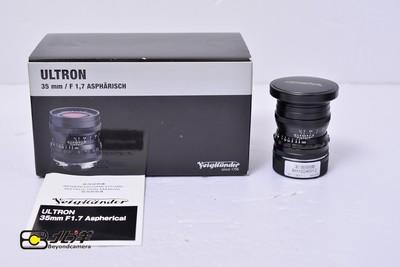 99新 福伦达 ULRTON 35/1.7 ASPH 新款 带包装 (BH10240012)