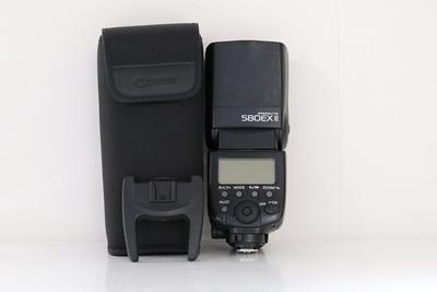 95新二手Canon佳能 580EX II 闪光灯 适用于5D25D3 184632成
