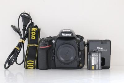92新二手Nikon尼康 D800 单机 快门29800次回收 058621成