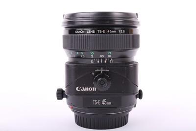 特价94新二手Canon佳能 45/2.8 TS-E 移轴镜头回收 12353京