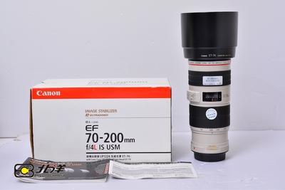 96新 佳能 EF 70-200/4L IS USM 大陆行货带包装(BH11060005)