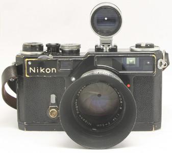 Nikon SP+50/1.4 原版 黑漆(1791)★