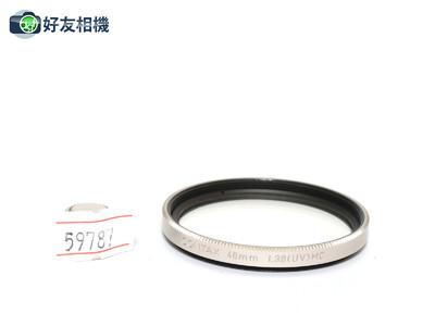 康泰时/Contax 46mm L39 (UV) MC滤镜 G系列镜头用 *超美品*