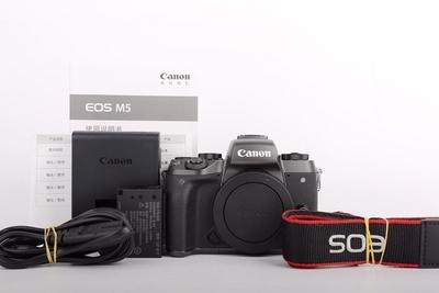 95新二手Canon佳能 M5 单机 微单相机 高价回收 000592京