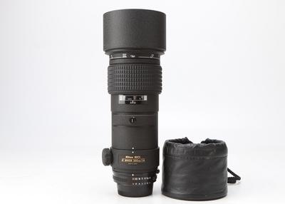98新二手 Nikon尼康 300/4 ED 定焦镜头 246691津