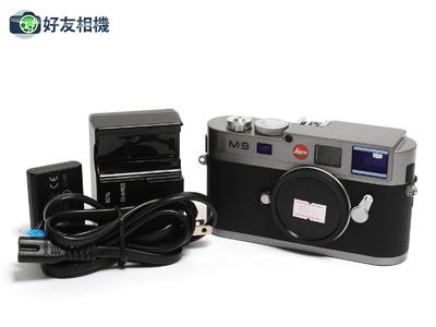 徕卡/Leica M9数码旁轴相机 钢灰色 CCD已换 快门数6624 *95新*