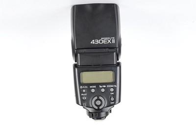 94新二手 Canon佳能 430EX II 闪光灯 二代回收  065454京