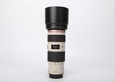 95新二手 Canon佳能 70-200/4 L IS USM小小白 604096津