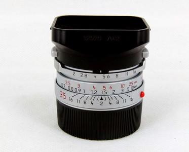 华瑞摄影器材-徕卡Leica Summicron-M 35/2 (IV)银色七枚
