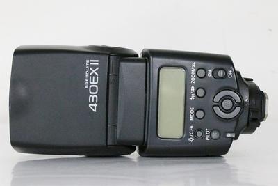 95新二手 Canon佳能 430EX II 闪光灯 二代回收 E13993成