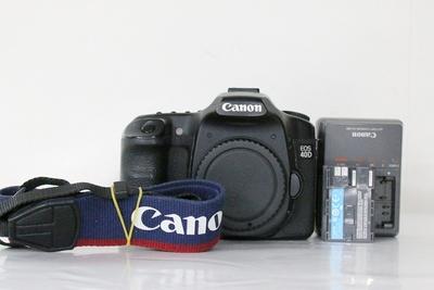 94新二手 Canon佳能 40D 单机 入门单反相机 712847成