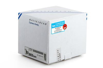 全新柜台展品 哈苏 Hasselblad 903swc 带取景器 背带 包装盒