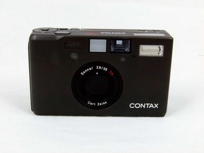 华瑞摄影器材-康泰时Contax T3 黑色双齿