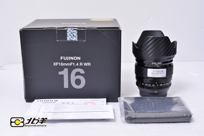 98新 富士 XF16/1.4R WR 大陆行货带包装(BH12070011)