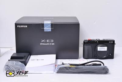 98新 富士 X-E3 大陆行货带包装 (BH12070008)【已成交】