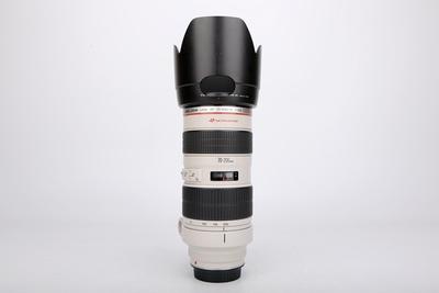 11新二手Canon佳能 70-200/2.8 L 小白变焦镜头 014972津