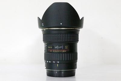 95新二手图丽 12-24/4 II AT-X PRO 二代镜头佳能口 317861成