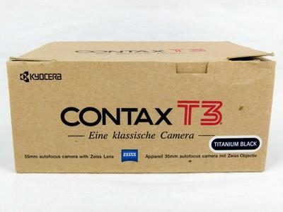 华瑞摄影器材-包装齐全的康泰时Contax T3黑色